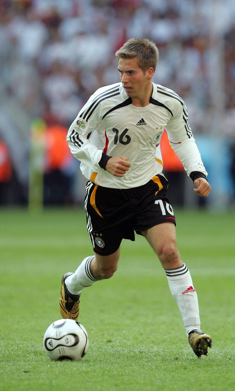 Philipp Lahm, der bis 2014 für die deutsche Nationalmannschaft spielte
