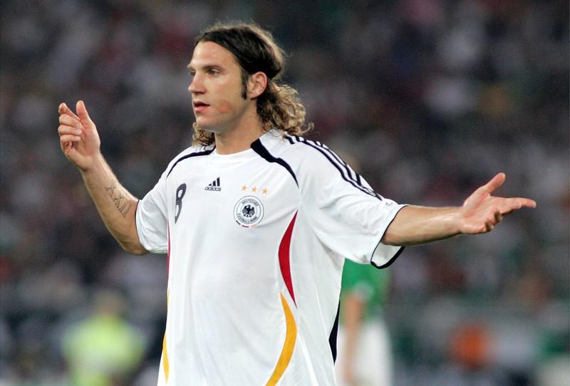 Torsten Frings, der bei der WM 2006 im Handgemänge einen anderen Spieler geschlagen haben soll