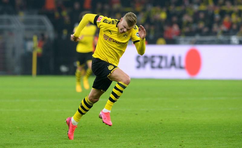 Erling Haaland gehört zu den schnellsten Spielern der Bundesliga.
