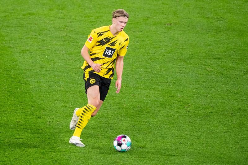 Erling Haaland ist ein sehr schneller Bundesliga-Fußballer.