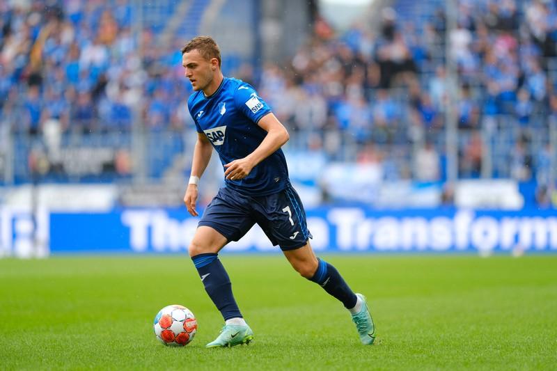 Jacob Bruun Larsens Leihvertrag endete, sodass er 2021 wieder zur TSG Hoffenheim ging