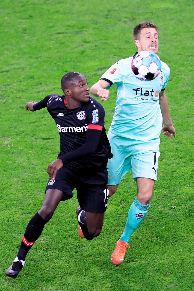 Moussa Diaby gehört zu den schnellsten Bundesliga-Spielern.