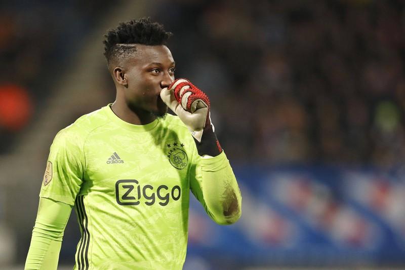 André Onana, der bei Ajax Amsterdam spielt und bisher auf 158 Gegentore kommt