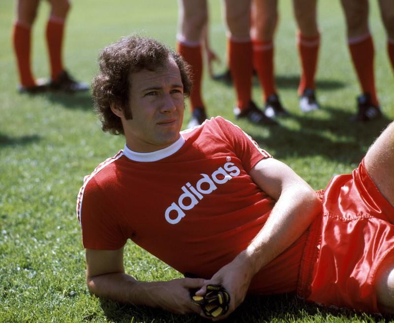 Mit Franz Beckenbauer hatte die Nr. 5 ihre Geburtsstunde.