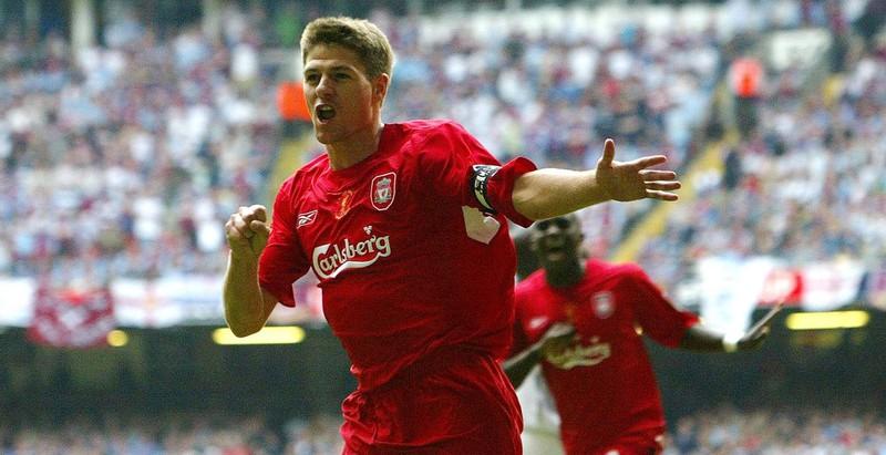 Mit welcher Nummer lief Steven Gerrard für den FC Liverpool auf?
