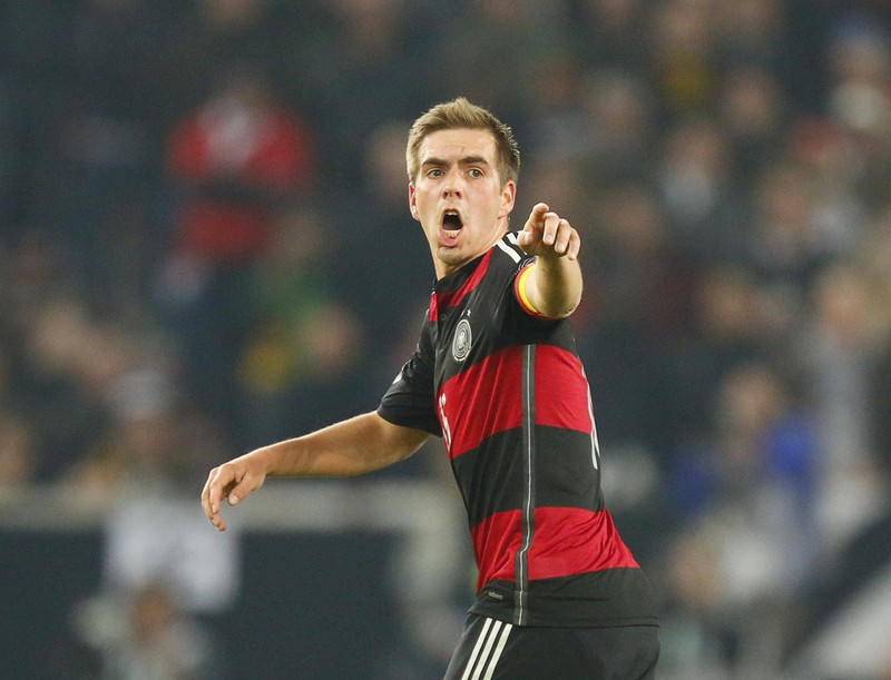Philipp Lahm trug beim FC Bayern die Rückennummer 21, doch welche Rückennummer trug er in der Nationalmannschaft?