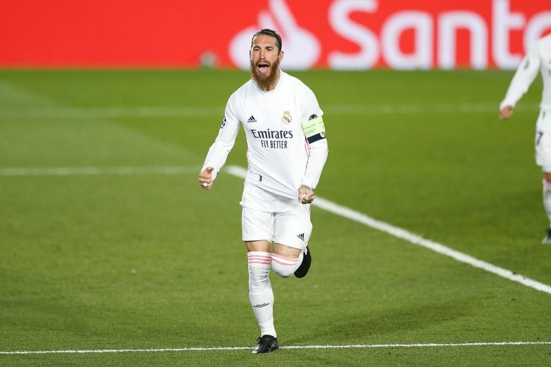 Welche Rückennummer trägt Sergio Ramos bei Real Madrid?