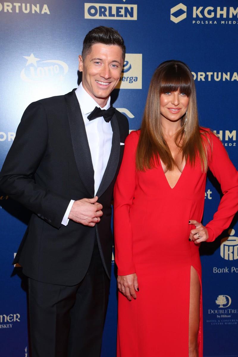 Robert Lewandowski und Anna sind ein Paar.