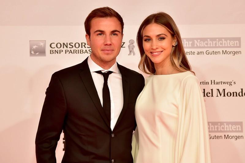 Mario Götze ist mit dem Model Ann-Kathrin Brömmel verheiratet