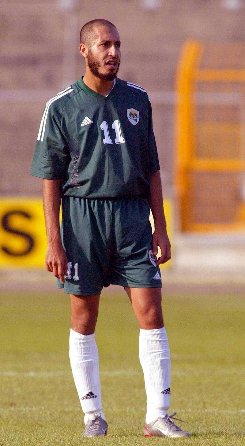 As-Saadi al-Gaddafi, der nur wegen des Geldes seines Vaters Fußballer werden konnte