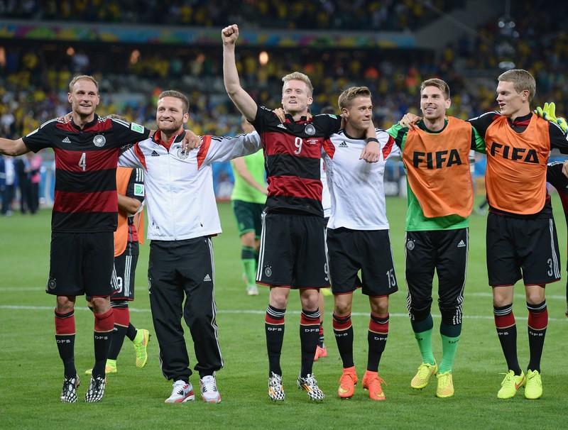 Das Halbfinale der WM 2014, als Deutschland mit 7:1 gegen Brasilien gewann