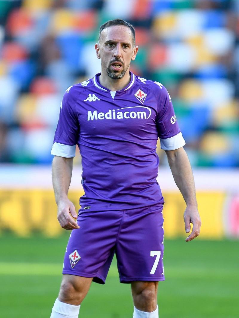 Ein Foto von Franck Ribery der aktuell bei keinem Verein unter Vertrag steht