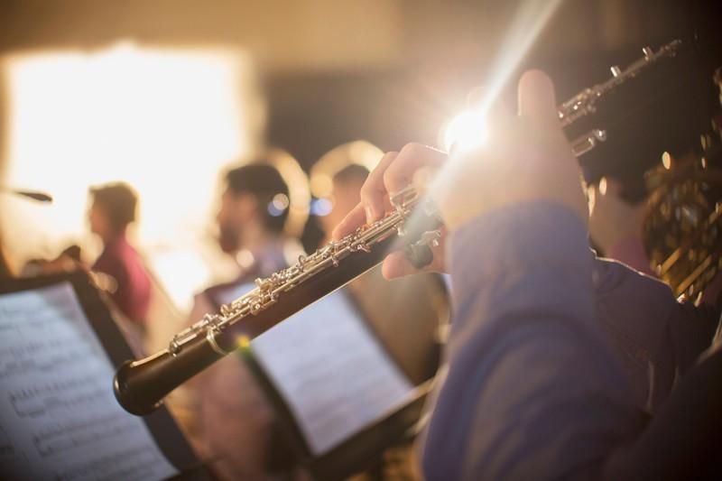 Die Oboe dient als Vorlage für den richtigen Klang im Orchester.