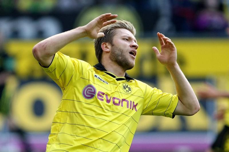 Jakub Blaszczykowski schoss den Ball gegen den SC Freiburg über das leere Tor