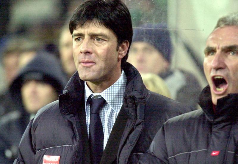 Der deutsche Trainer Joachim Löw, der schon in Österreich Meister wurde