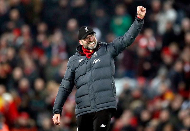 Jürgen Klopp, der im Ausland beim FC Liverpool 2020 Meister wurde
