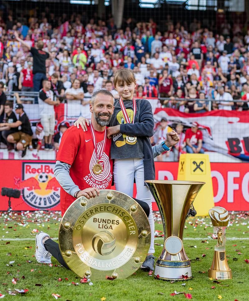 Marco Rose, der in Österreich mit dem FC Red Bull Salzburg die Meisterschaft holte