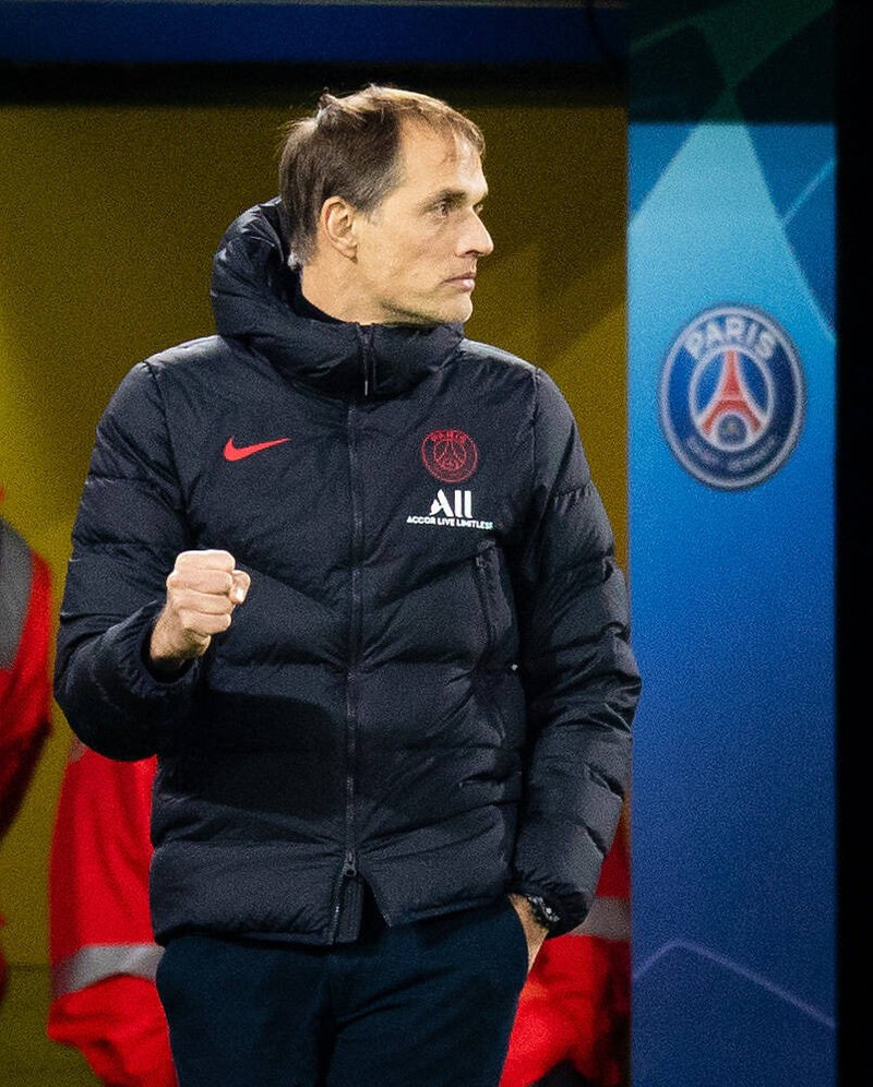 Thomas Tuchel, der mit Paris Saint-Germain die Französische Meisterschaft holte und ein sehr erfolgreicher deutscher Trainer ist