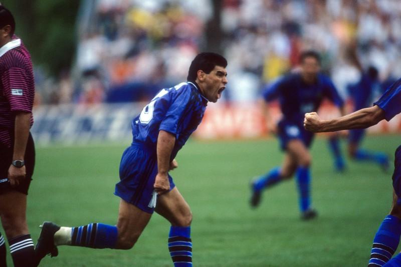 Diego Maradonas positiver Dopingtest war wohl der Tiefpunkt seiner Fußballkarriere
