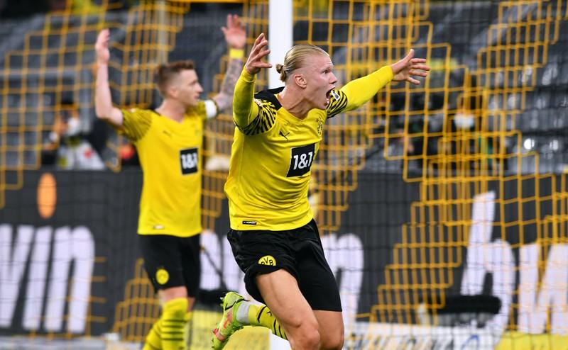 Erling Haaland geht seit Januar 2020 für den BVB auf Torejagd, Zuspiele erhält er dabei unter anderem von Giovanni Reyna und Marco Reus