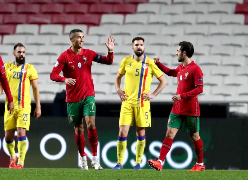 Portugal läuft mit Spielern aus diesen Vereinen auf