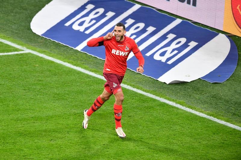 Der 1. FC Köln läuft mit dieser Formation auf