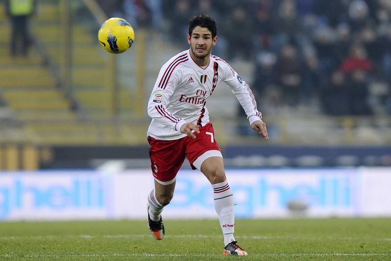 Alexandre Pato weckte im Trikot des AC Mailand große Hoffnungen