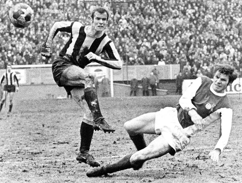 Alemannia Aachens Sieglos-Serie in der Bundesliga endete 1970 mit dem Abstieg