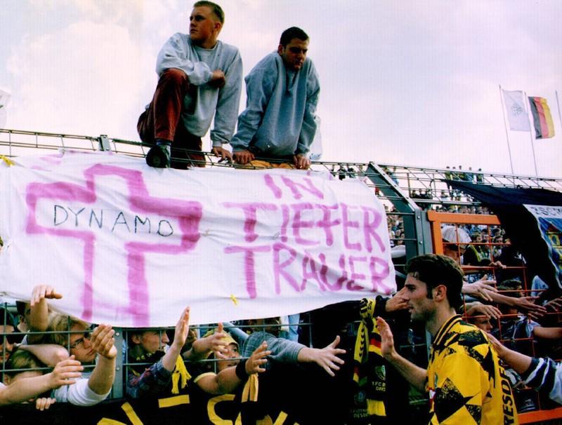 Eine Sieglos-Serie von 21 Spielen am Stück in der Bundesliga kann auch Dynamo Dresden vorweisen