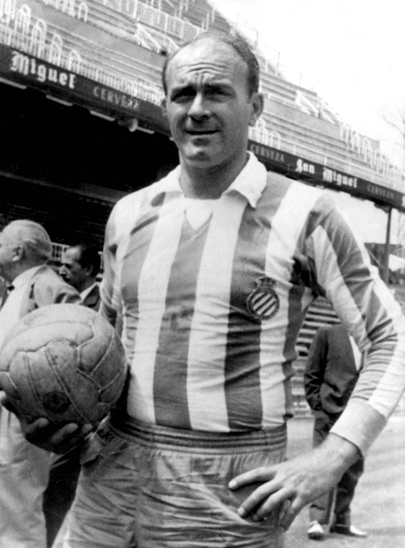 Alfredo di Stefano hat es vor allem mit seinen Leistungen bei Real Madrid zur absoluten Ikone gebracht