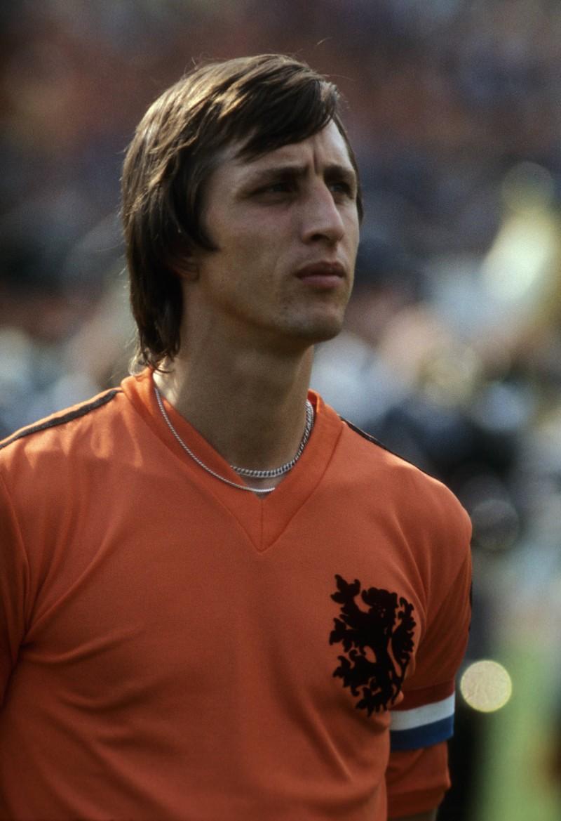 Johan Cruyff gilt nicht nur in seinem Heimatland als Ikone des Fußballs