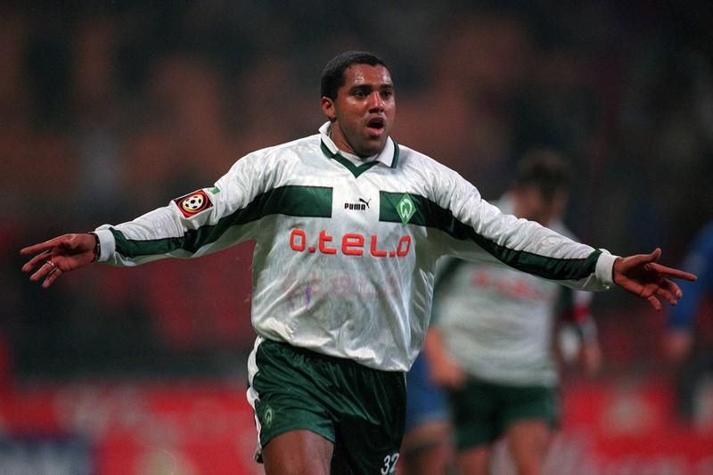 Aílton wechselt im Oktober 1998 zu Werder Bremen