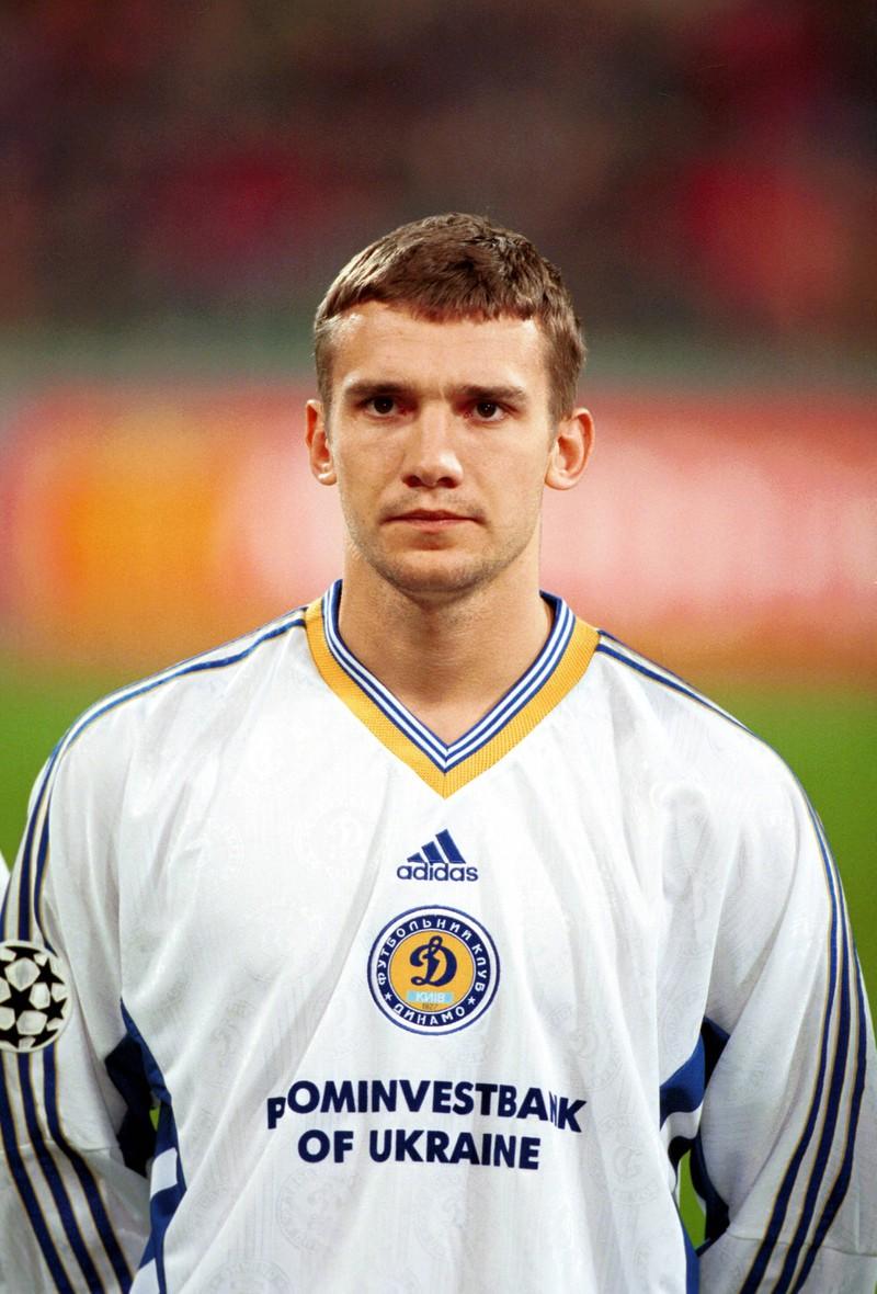 Auch Andriy Shevchenko wäre fast in die Bundesliga gewechselt, nämlich zu Werder Bremen