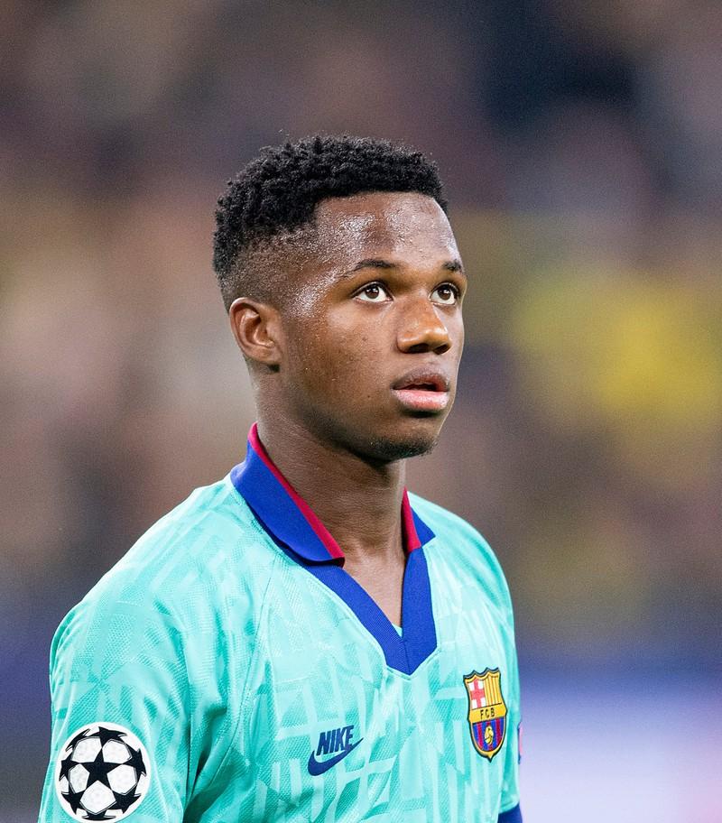 Ansu Fati ist die große Nachwuchshoffnung des FC Barcelona