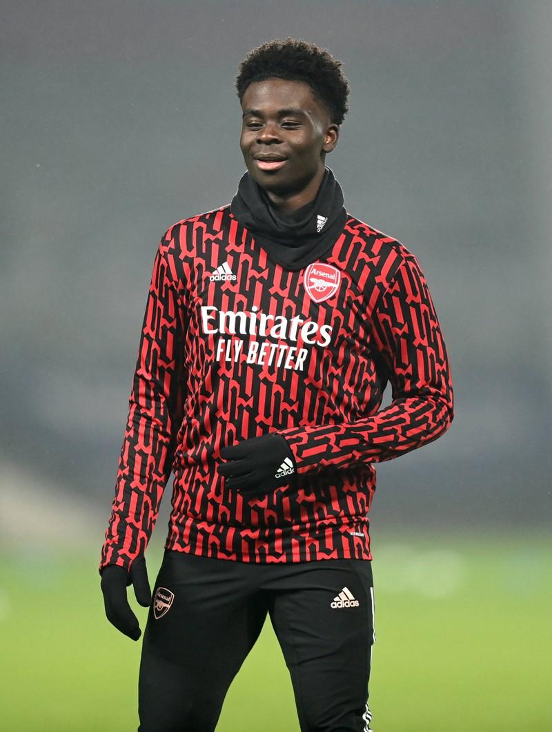 Bukayo Saka hat mit seinen Leistungen bei Arsenal London Hoffnungen geweckt, in der Zukunft ein absoluter Top-Spieler zu werden