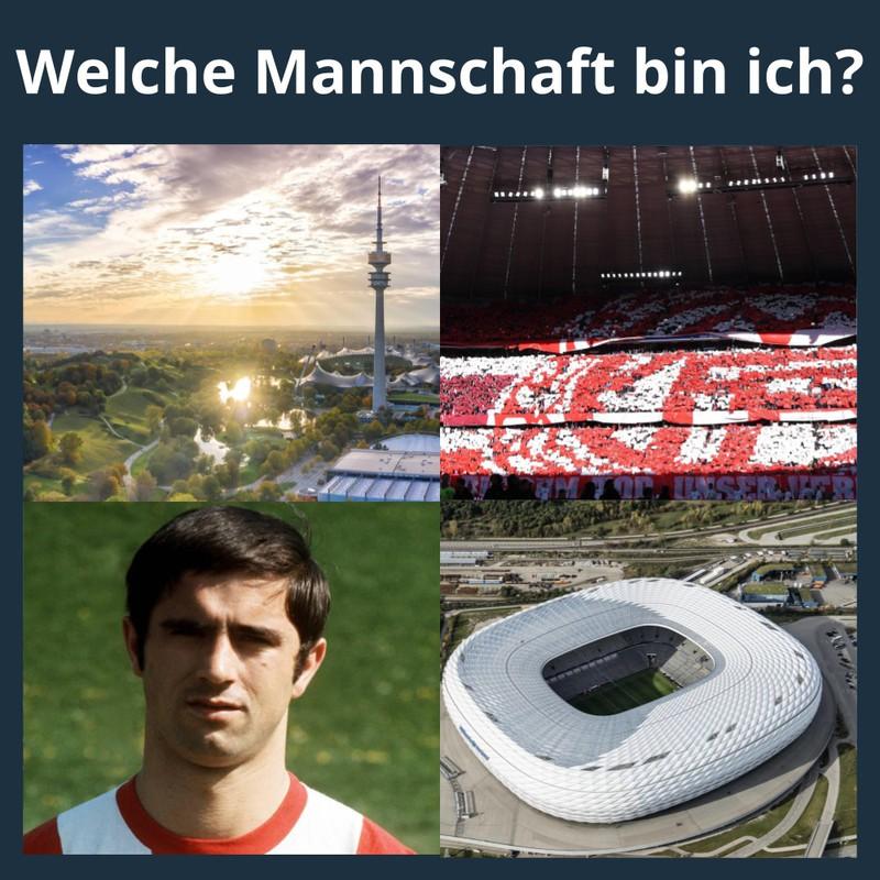 """Die weiteren Hinweisbilder können dabei helfen, das """"Wer bin ich?"""" zu lösen und das Bundesliga-Team verraten"""
