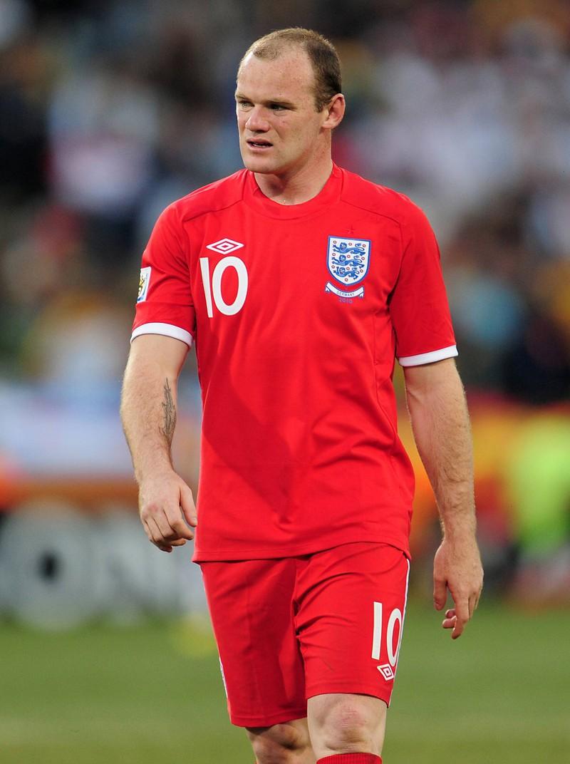 Wayne Rooney stahlen Diebe bei der WM 2010 sogar seine Unterhosen