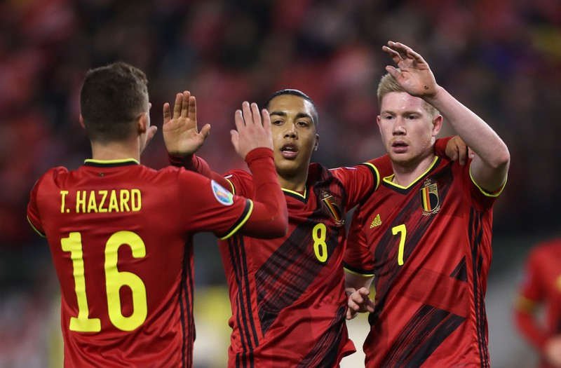 Belgien geht als einer der Favoriten in das EM-Turnier