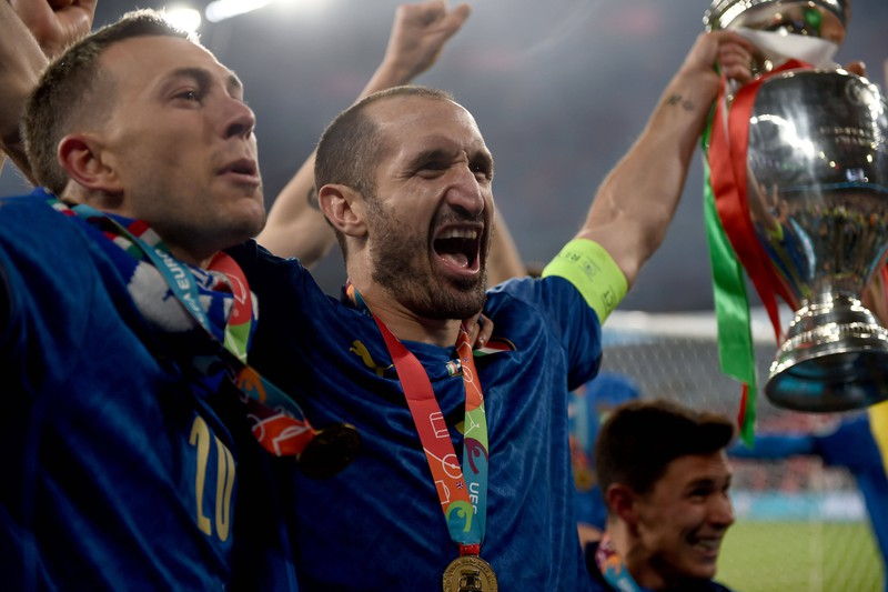 Chiellini ist nun Teil der Spieler im Fokus-Reihe